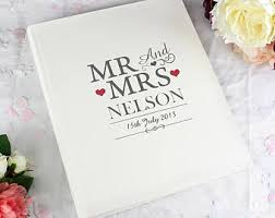 Photo Album Wedding Wedding Albums U0026 Scrapbooks Etsy