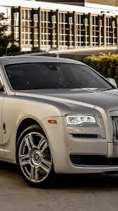 roll royce ghost wallpaper download 1080x1920 rolls royce ghost silver side view cars