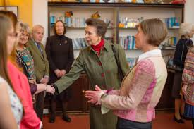 Princess Anne Princess Anne Visits Nethercott House To Celebrate Farms For City