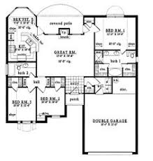 32x50 rectangle ranch house plans shaped ranch house plans
