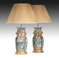 pair chinese vases now lamps c 1845 china from summers davis