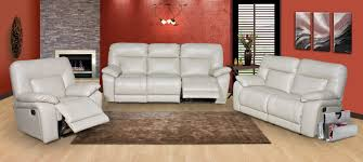 White Leather Recliner Sofa Set by Incredible Recliner Chairs With Best Accent Ideas Home Furniture