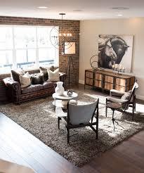 Elegant Modern Industrial Living Room Living Room  Stylish And - Industrial living room design ideas