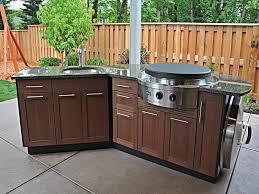 inexpensive outdoor kitchen ideas simple outdoor kitchen garden design