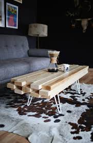 how to make wood coffee table diy crafts handimania weddbook