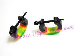 reggae earrings aliexpress buy 2015 newest ear stretchers hoop earring