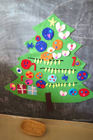 easy to make diy felt christmas tree activity for kids