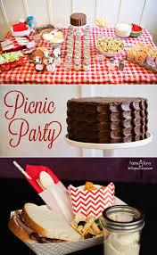 picnic party food u0026 printables ashlee marie