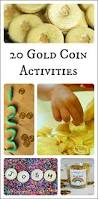 20 creative activities for kids using gold coins creative