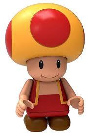 knex super mario bros fire toad minifigure loose toywiz