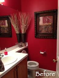 Small Red Bathroom Ideas Colors Colors Paint The Bathroom Personalised Home Design