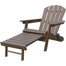 chair with built in ottoman stonegate designs resin adirondack chair with built in ottoman