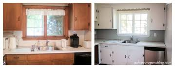 How To Paint Kitchen Cabinets Without Sanding How To Paint Kitchen Cabinets Without Sanding In Progress