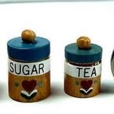 kitchen canisters flour sugar shop flour sugar canister set on wanelo