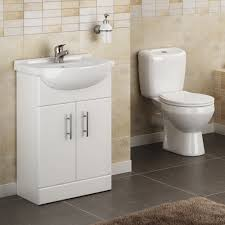 lyon high gloss white vanity unit cloakroom suite at victorian