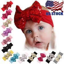baby girl headbands and bows baby headbands flower crochet pastel ebay