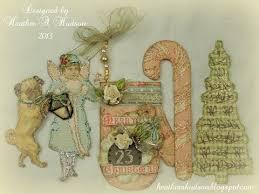 gorgeous diy vintage pink mitten ornament tags