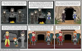 macbeth act 1 storyboard storyboard by bmau13