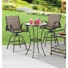 High Bistro Table Set Outdoor High Top Bistro Patio Set