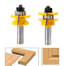 kitchen cabinet door router bits 2pcs set 1 2 u0027 u0027 shank router bit woodwork cutter tools router bit