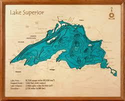 Lake Michigan Depth Map by Lake Superior Topographic Map Topographic Map