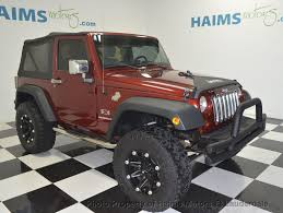 huge jeep wrangler 2009 used jeep wrangler 4wd 2dr x at haims motors hollywood