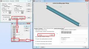 manual lt buckling length in lrfd steel design module autodesk