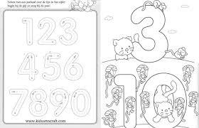 1 10 writing numbers worksheets for preschool and kindergarten