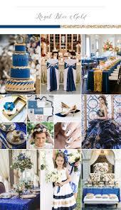 sophisticated rich and elegant wedding palette royal blue