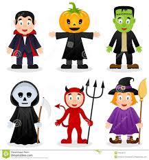 happy halloween white background halloween cartoon monsters set stock vector image 44645301