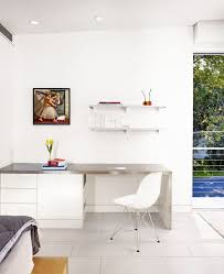 Home Office Contemporary Desk by Plastic Acrylic Desks Home Office Contemporary With Wood Trim