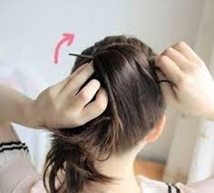 chopsticks for hair how to diy easy bun hairstyle using chopstick