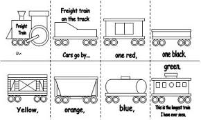 coloring page train car learning printables for kids