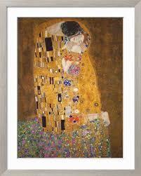 sensual paintings for the bedroom the kiss c 1907 art print by gustav klimt at art com