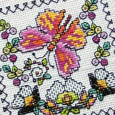 lesley teare designs blackwork butterfly cards cross stitch