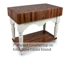 boos walnut end grain butcher block island top 2 25