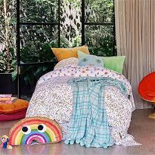 kip u0026co mauve velvet floor cushion shop