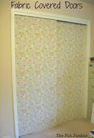 Fabric Closet Doors Fabric Closet Door Coverings Doors Ideas
