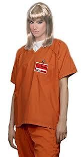 prisoner costume women s orange scrub set prisoner costume savvy falcon