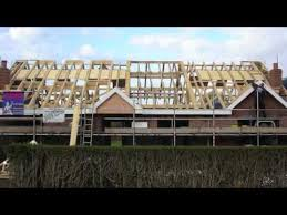 Dormer Building New Build Dormer Bungalow Willaston Nantwich Cheshire Building