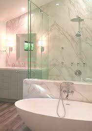 book matched neolith white calacatta shower u0026 bathroom fm