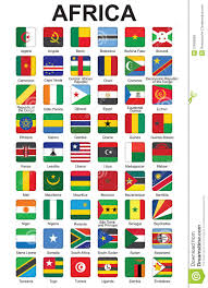 Flags Of African Countries Buttons With African Countries Flags Stock Vector Image 27660056