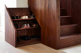 accessories 20 creative under stairs shoe storage images under accessories natural brown polished wooden understairs shoe storage portable wooden storage for shoes large folding
