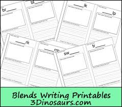 bob books 4 u0026 blends writing printable 3 dinosaurs