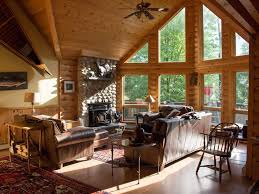 luxury log cabin style family ski lodge homeaway bethel