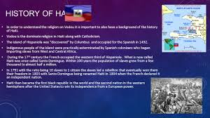Haitian Flag Meaning Haitian Vodou Fact Vs Fiction What Is Haitian Vodou It Is A