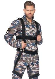 military halloween costume paratrooper halloween costume for men