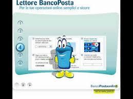 banco postaonline lettore bancoposta