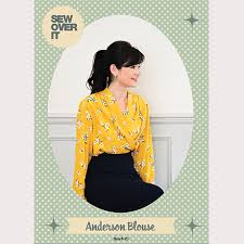 blouse sewing patterns sew it blouse pdf sewing pattern sew it