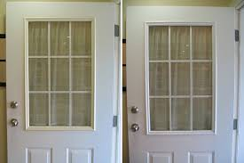 Painting Exterior Door Remodelaholic Spray Painted Window Trim On Exterior Door